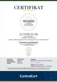 Certifikat-ISO-22000-OJ-Choklad-AB-2020-02-11
