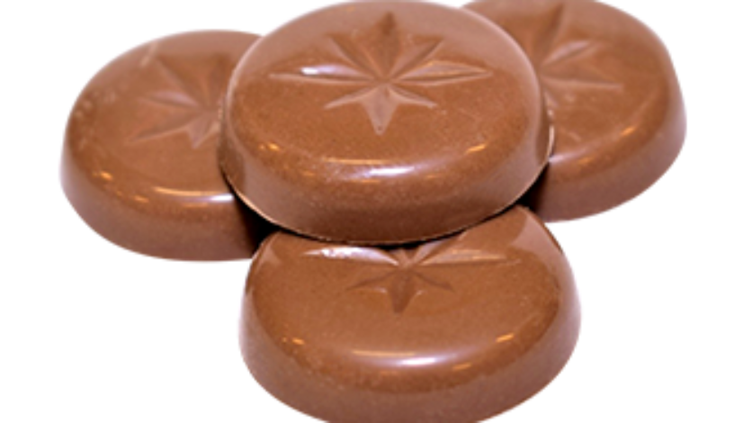 Choklad Poletter RED
