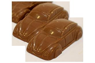 Choklad VW-Bilar